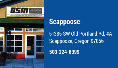OSM Scappoose Location