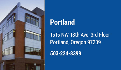 OSM Portland Location
