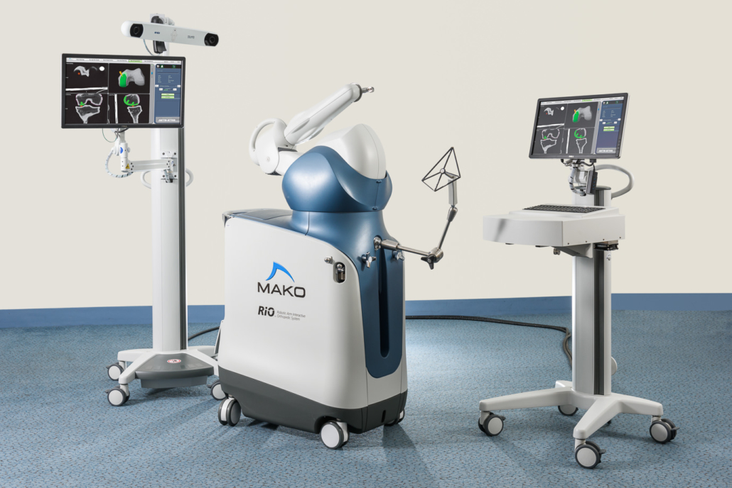 Robotic assisted knee surgery in Portland Oregon
