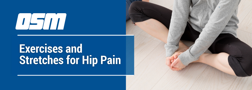 Exercises and Stretches for Hip Pain