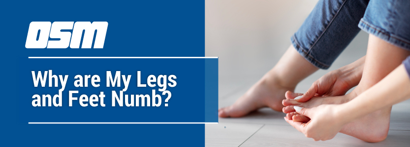 Why are My Legs and Feet Numb?